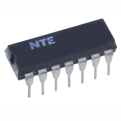 NTE Electronics NTE1057 INTEGRATED CIRCUIT FM IF AMP/ AF PREAMP 14-LEAD