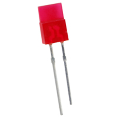 NTE Electronics NTE3160 LED Red Rectangular 1mm X 5mm