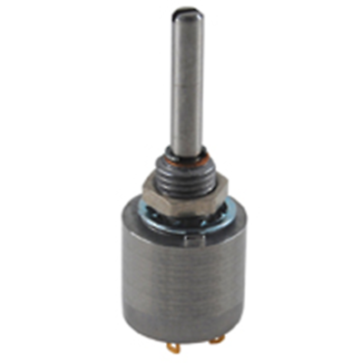 "NTE Electronics 501-0096 POT 1/2W 500K OHM 1/8"" DIA SHAFT CARBON 10% TOLERANCE"