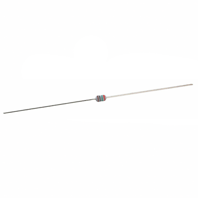NTE Electronics EW9D1 RESISTOR 1/8W METAL FILM FLAMEPROOF 9.1 OHM 2% AXIAL LEAD