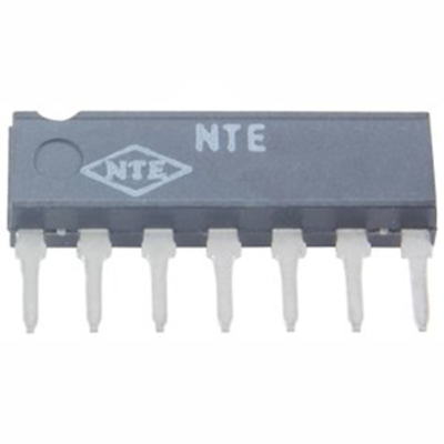 NTE Electronics NTE1609 INTEGRATED CIRCUIT INSTRUMENTATION TIMER 7-LEAD SIP VCC=