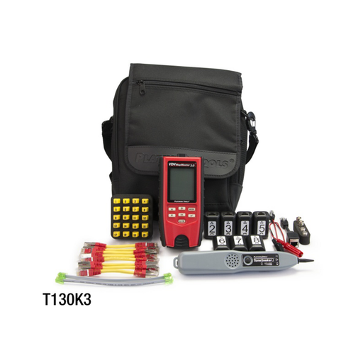 Platinum Tools T130K3 VDV MapMaster™ 3.0 Cable Tester Deluxe PRO Kit
