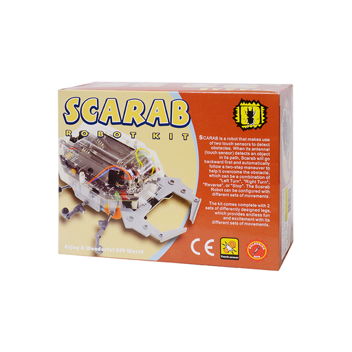 Elenco 21-884 Scarab Robot Kit
