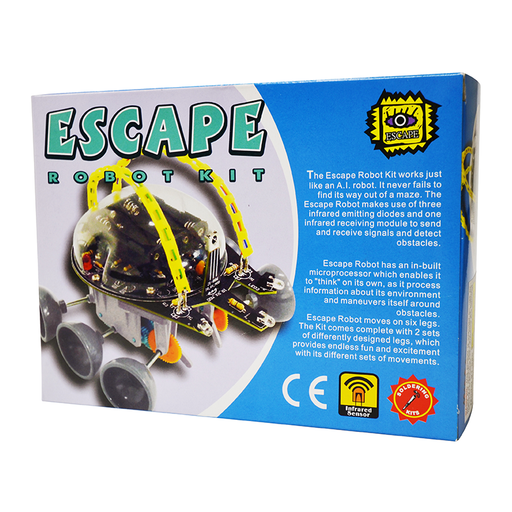 Elenco 21-886 Escape Robot Kit