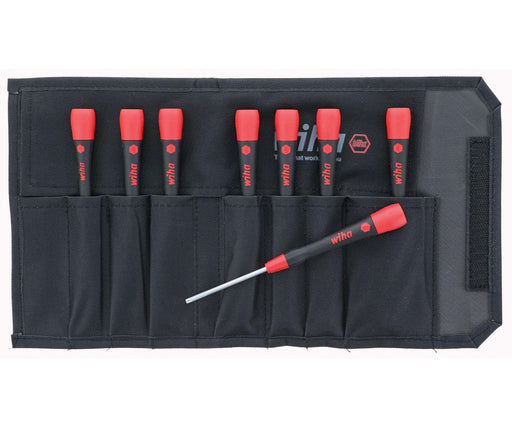 Wiha 26796 8 Piece PicoFinish Precision Torx Screwdriver Pouch Set