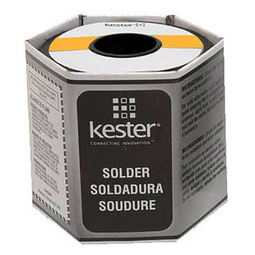 "Kester Solder 24-6040-0018 Rosin Cored Wire Solder Roll, 44 Activated, 0.025"" Diameter"