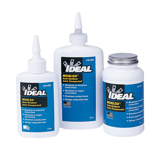 Ideal 30-030 Noalox Anti-Oxidant Compound (8 oz. Squeeze Bottle)