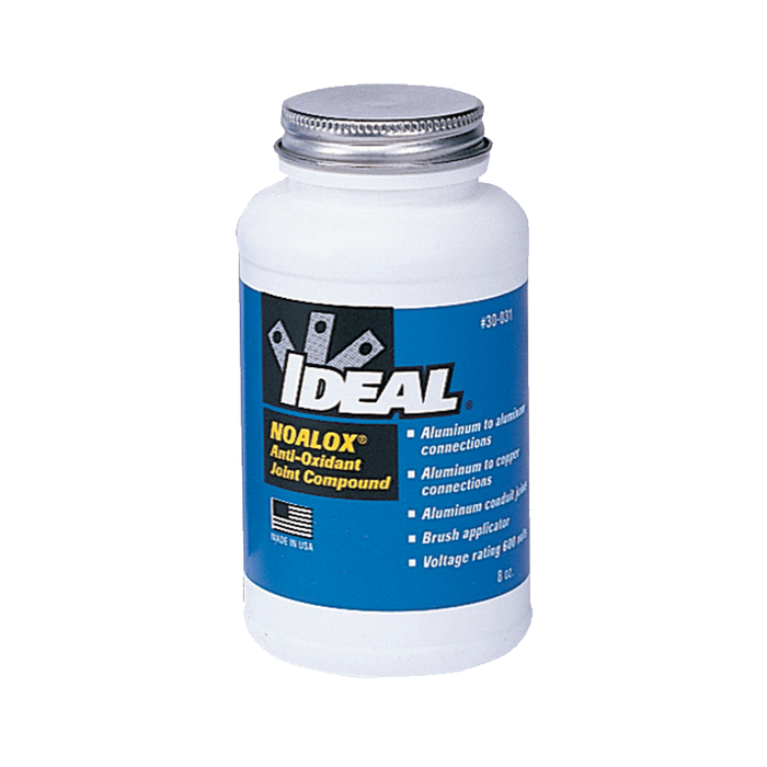 Ideal 30-031 Noalox Anti-Oxidant Compound (8 oz. Brush-Cap Bottle)