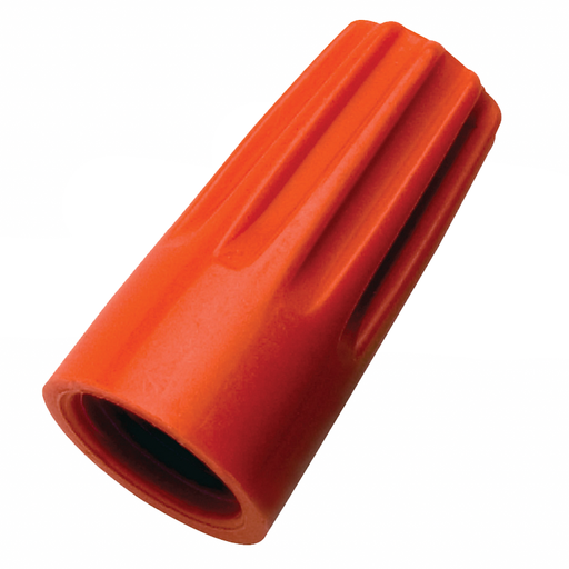 Ideal 30-073 Wire-Nut Wire Connector, Model 73B Orange, 100/Box