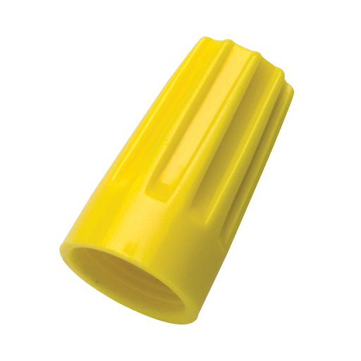 Ideal 30-074 Wire-Nut Wire Connector, Model 74B Yellow, 100/Box