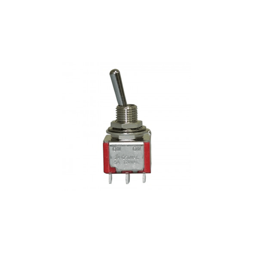 Philmore 30-10012 Mini Toggle Switch DPDT 5A @120V ON-ON