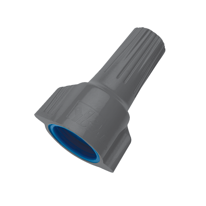 Ideal 30-1363 WeatherProof Wire Connector, Model 63, Gray-Blue, 1,000/box