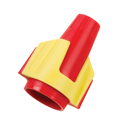 Ideal 30-144 Twister PRO Wire Connector, Model 344, Red/Yellow, 50/box