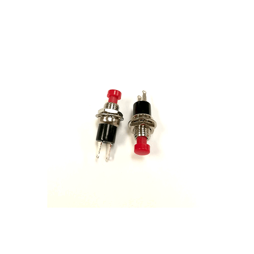 Philmore 30-2289 Sub-Mini Push Button Switch 1A@125V SPST OFF-(ON) 2 Pack