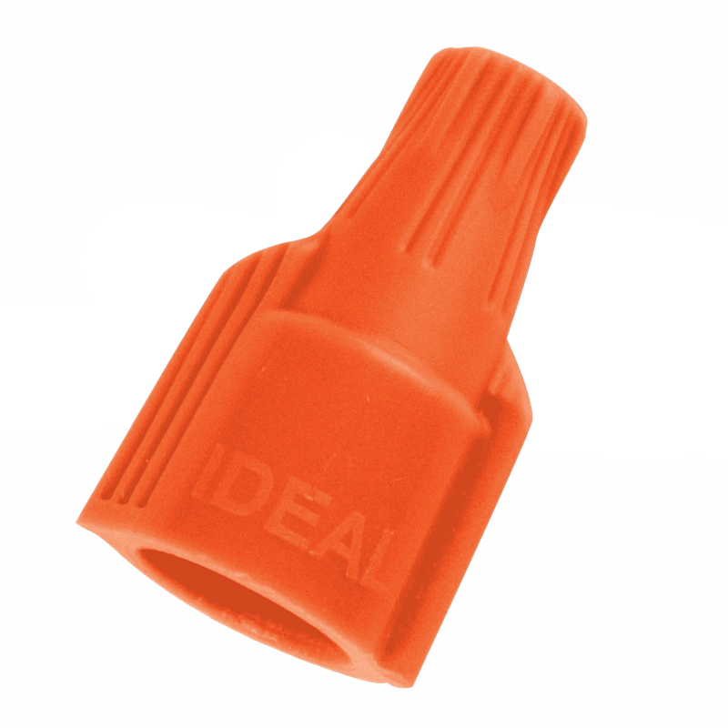 Ideal 30-640J Twister Wire Connector, Model 340 Orange, Jar/500