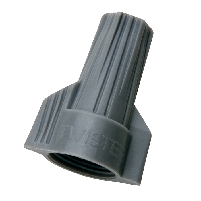 Ideal 30-342 Twister Wire Connector, Model 342, Gray, 50/box