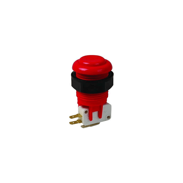 Philmore 30-781 Red Video Game Push Button Assembly w/ Switch