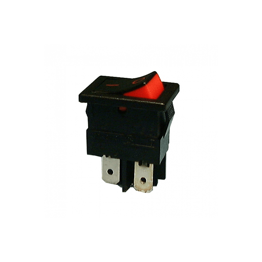 Philmore 30-855 Mini Rocker Switch DPST 15A @ 125V ON-OFF  Black/White