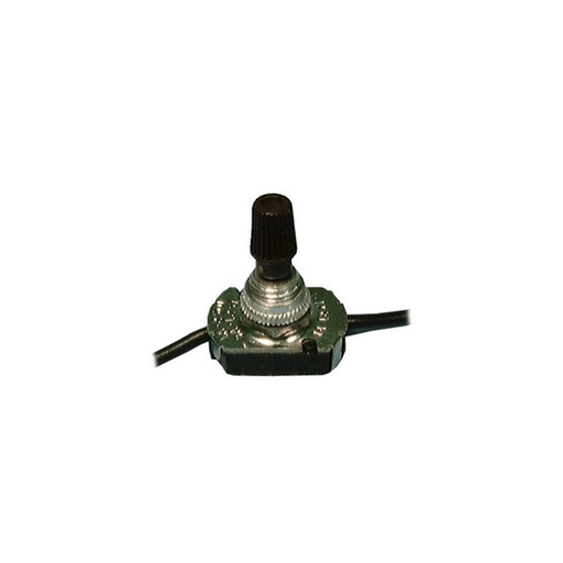 Philmore 30-9159 Rotary Canopy Switch SPST 3A@125V ON-OFF Knurled