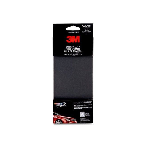 "3M 03008 3-2/3"" x 9"" Emery Cloth"