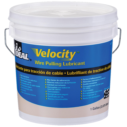 Ideal 31-277 Velocity Cable Pulling Lubricant (1 Gallon Bucket)