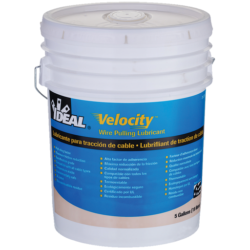 Ideal 31-278 Velocity Cable Pulling Lubricant (5 Gallon Bucket)