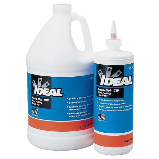 Ideal 31-298 Aqua-Gel CW Cable Pulling Lubricant (1-Quart Squeeze Bottle)