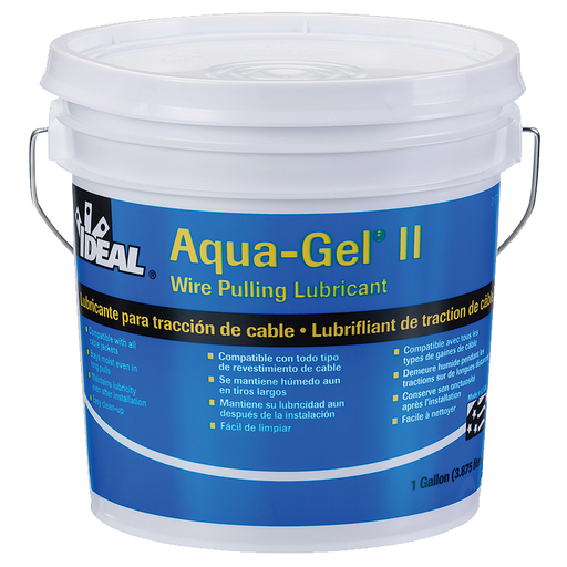 Ideal 31-371 Aqua-Gel II Cable Pulling Lubricant (1-Gallon Bucket)