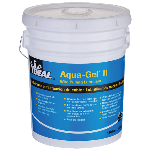 Ideal 31-375 Aqua-Gel II Cable Pulling Lubricant (5-Gallon Bucket)