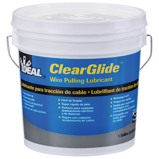 Ideal 31-381 Clearglide Wire Pulling Lubricant (1-Gallon Bucket)