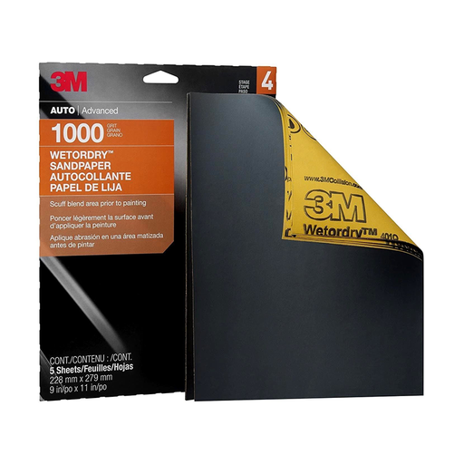 "3M 32021 Imperial Wetordry 9"" x 11"" 1000 Grit Sheet"