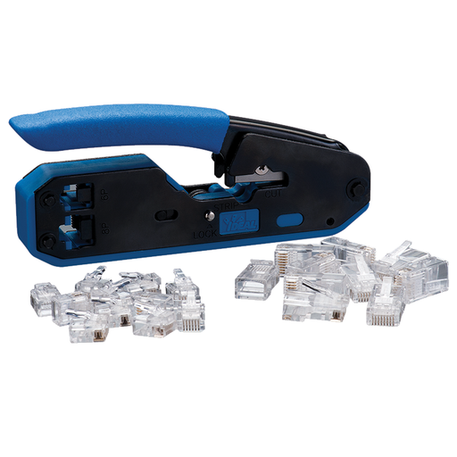 Ideal 33-396 Data/Voice Modular Plug Crimp Tool Kit