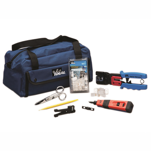 Ideal 33-506 Pro Network/Telco InstallerTool Kit