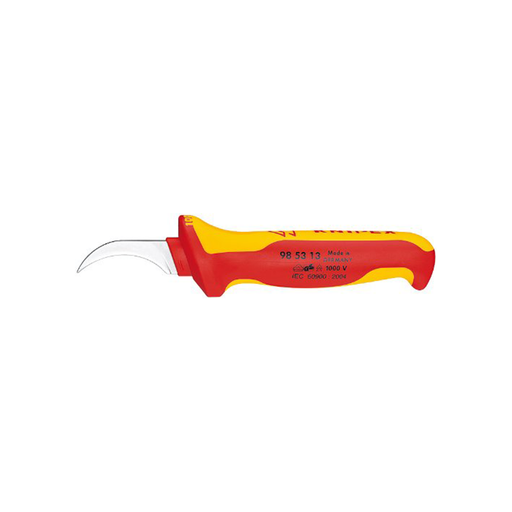 Knipex 98 53 13 1,000V Insulated Dismantling Knife
