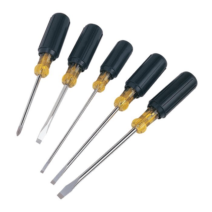 Ideal 35-297 5-Piece Cushioned-Grip Screwdriver Set