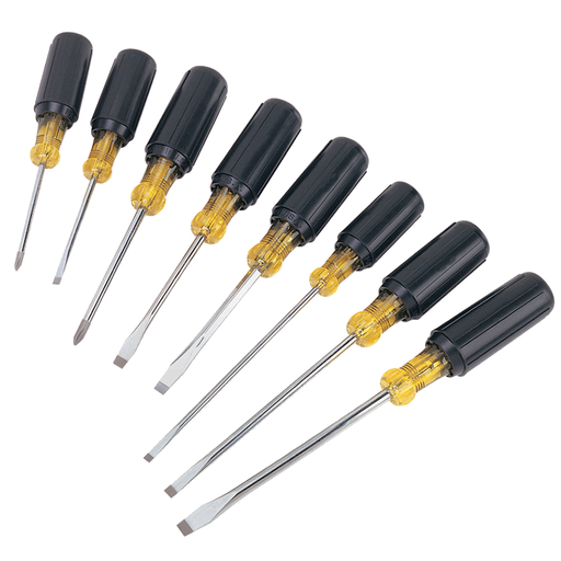Ideal 35-298 8-Piece Cushioned-Grip Screwdriver Set