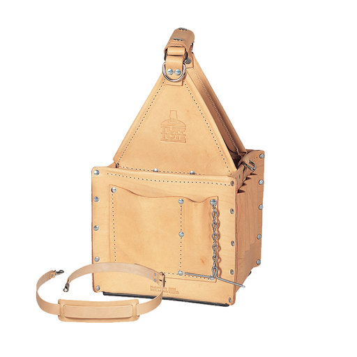 Ideal 35-325 Tuff-Tote Ultimate Tool Carrier, Standard Leather w/ Strap