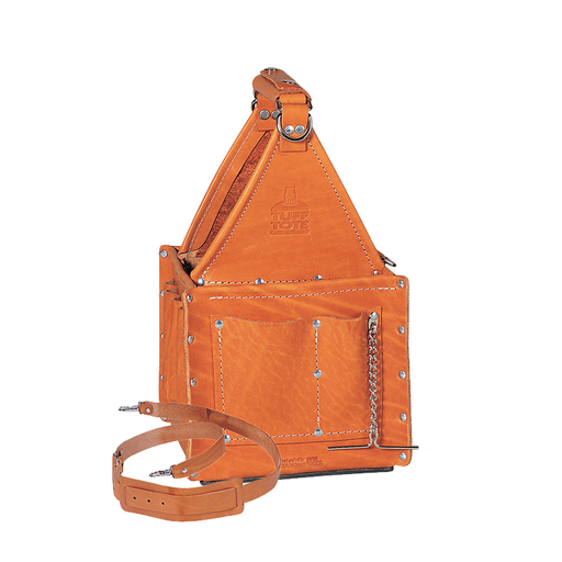 Ideal 35-975 Tuff-Tote Ultimate Tool Carrier, Premium Leather w/Strap