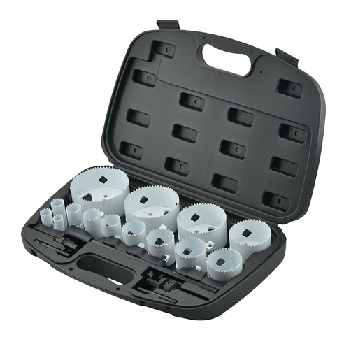 Ideal 36-502 Bi-Metal Hole Saw Set, 19-Pieces