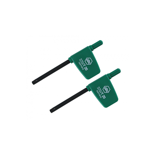 Wiha 37012 Torx® Flag Handle Driver T20 - 2Pk