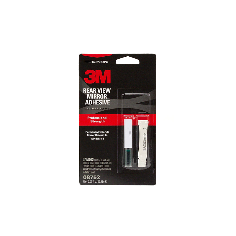 3M 08752 .02 fl. oz. Rearview Mirror Adhesive