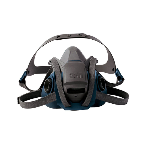 3M Model 6502QL/49490 Medium Rugged Comfort Quick Latch Half Facepiece Reusable Respirator