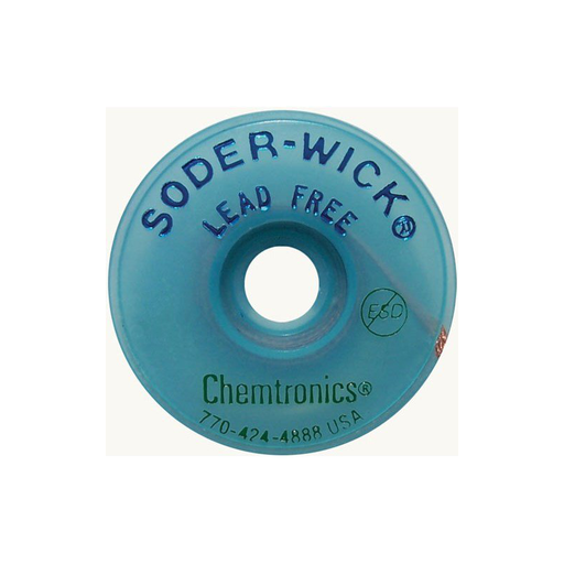 "Chemtronics 40-1-5 Lead Free Wick, .030"" 5 ft Roll"