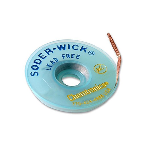 "Chemtronics 40-3-10 Lead Free Wick, .080"" 10ft Roll"