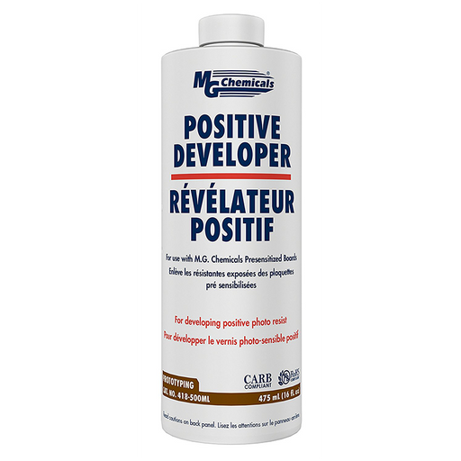 Mg Chemical 418-500ML Positive Developer Liquid