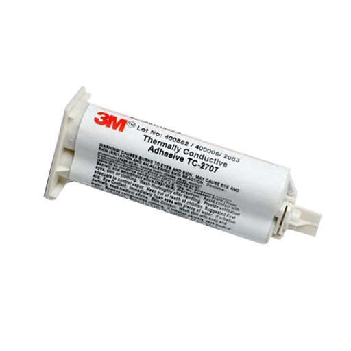 3M 7100178037 Thermally Conductive Adhesive, TC-2707, 50 ML Duo-Pack