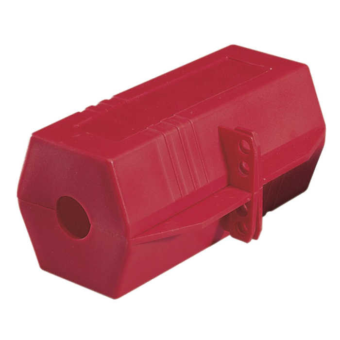 Ideal 44-819 Plug Lockout, 220/250v. 3-1/4x3-1/4x7 in.
