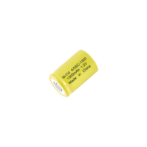 Dantona 4/5SC-1300 Single Cells 4/5SC-1300 Nickel Cadmium (NICD) Battery 1.2 V