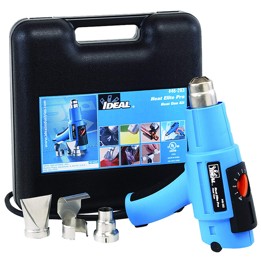 Ideal 46-203 Heat Gun Kit, Heat Elite Pro