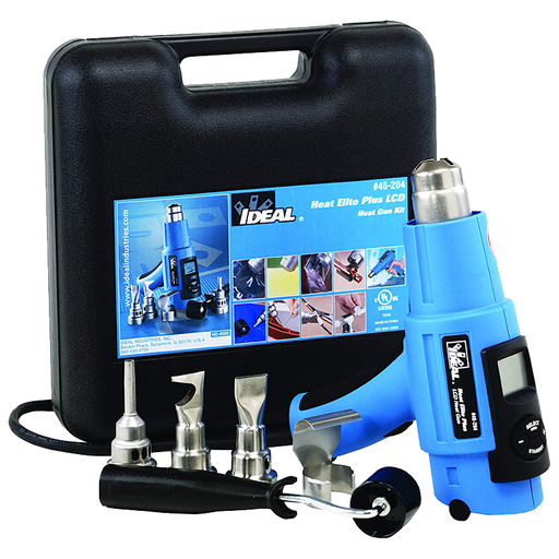 Ideal 46-204 Heat Elite Plus LCD Heat Gun Kit